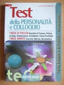 Test accesso concorsi pubblici,forze armate e di polizia,carabinieri,ministero della difesa